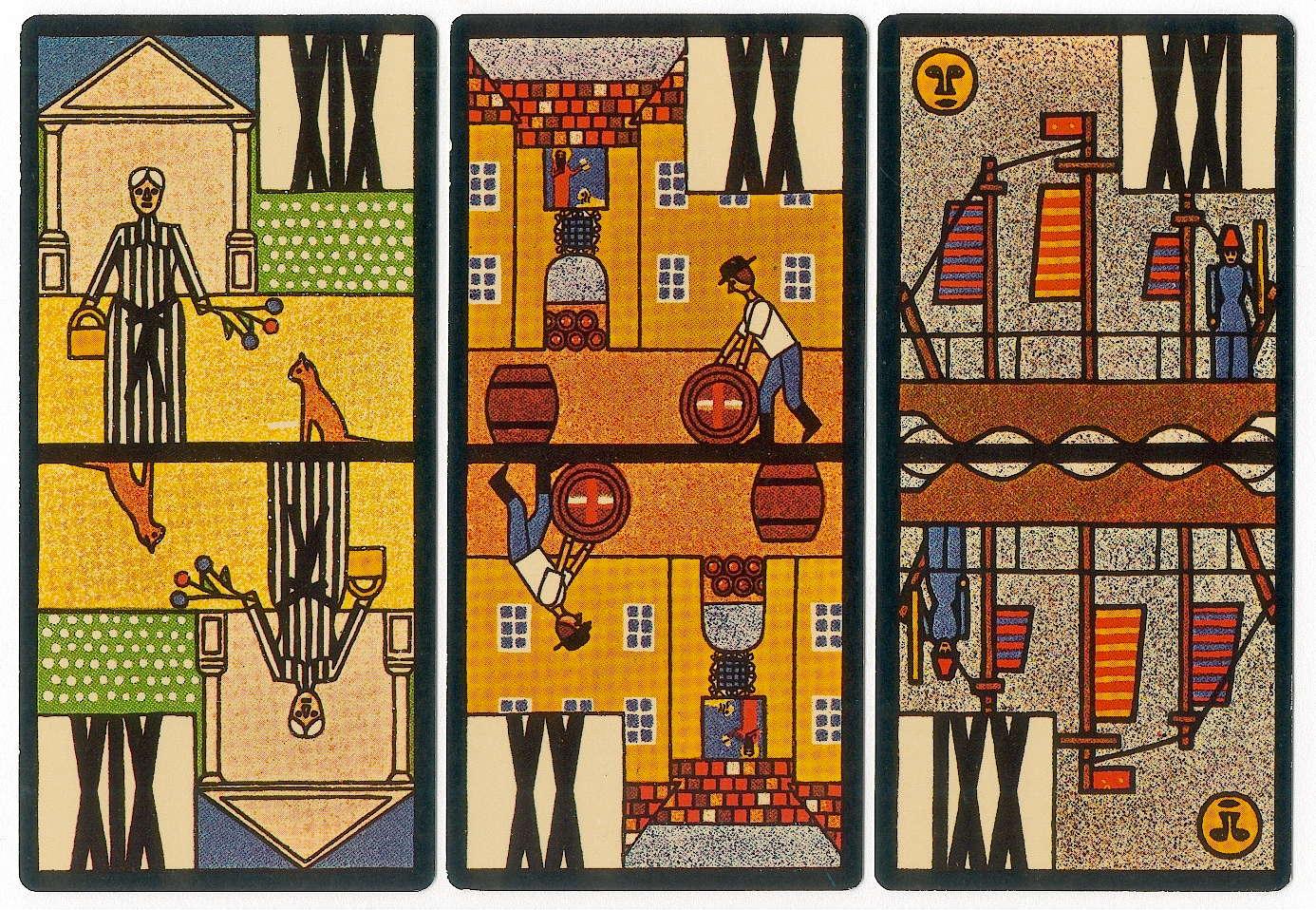 Jugendstil Tarock The World Of Playing Cards