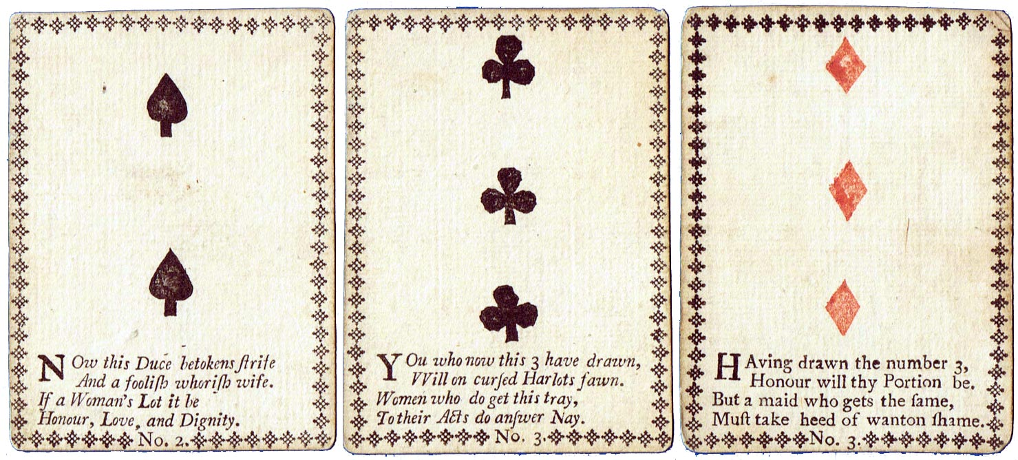 Fortune Telling playing cards - The World of Playing Cards