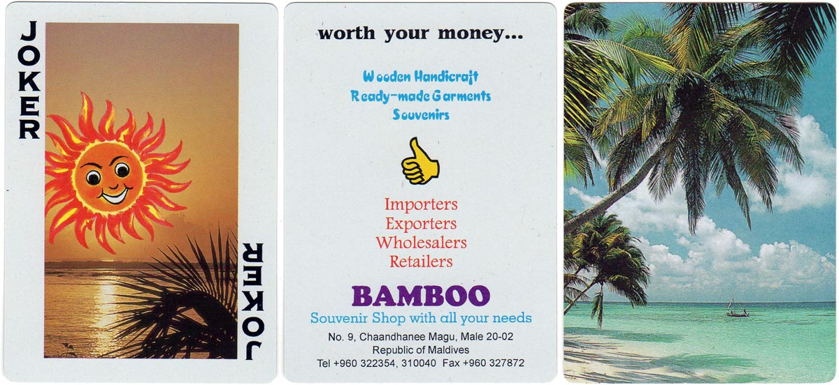 Maldives Scenery By Bamboo Souvenirs