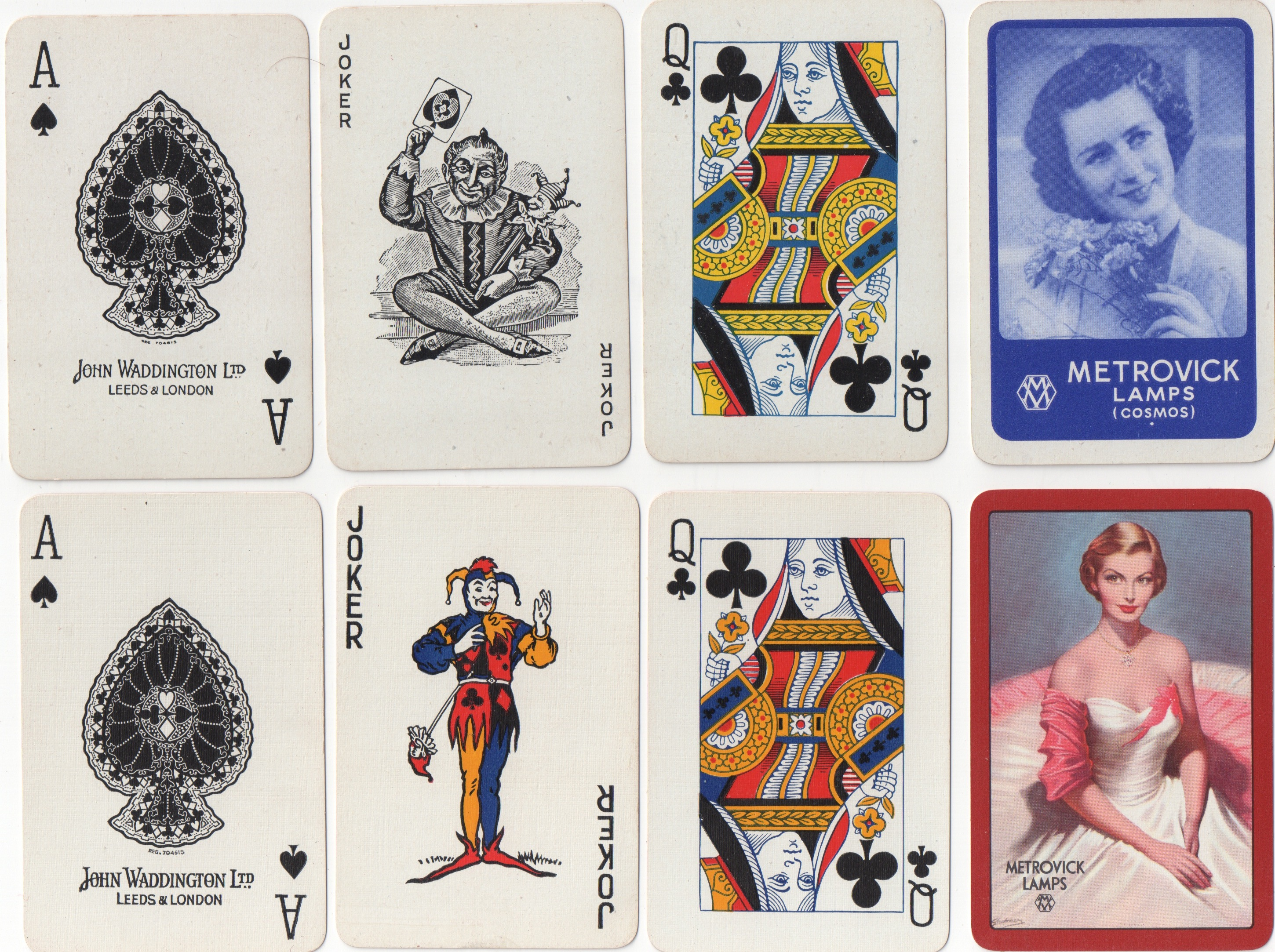 Dating de la rue playing cards