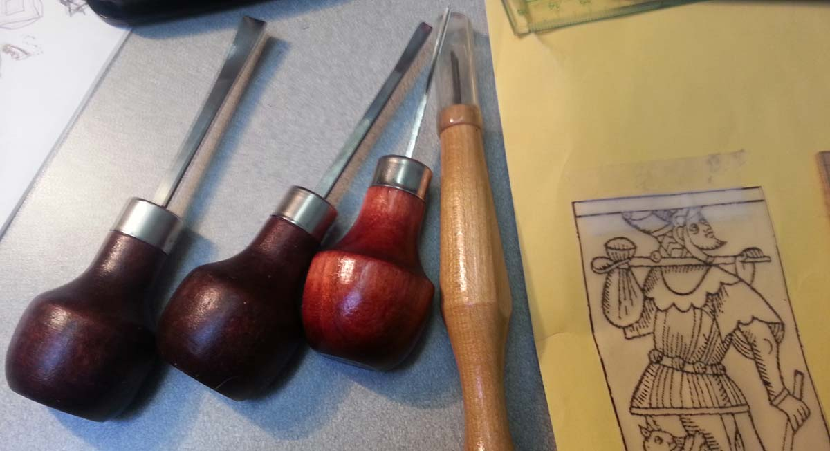 Lino cutting tools