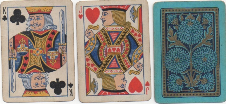 dating playing cards