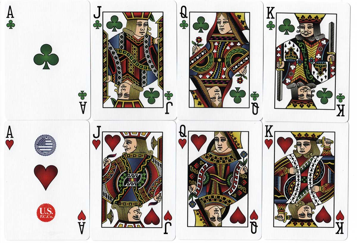 Hesslers Rider Back Playing Cards, 2019