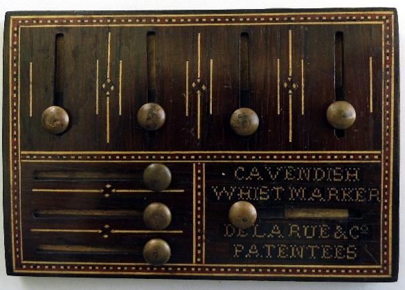 """the """"Cavendish Whist Marker"""" from De La Rue"""