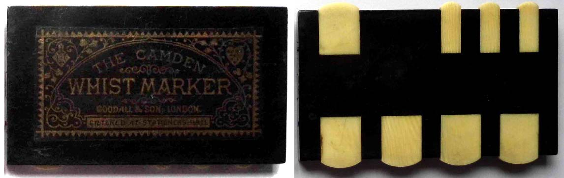 the Camden Whist Marker