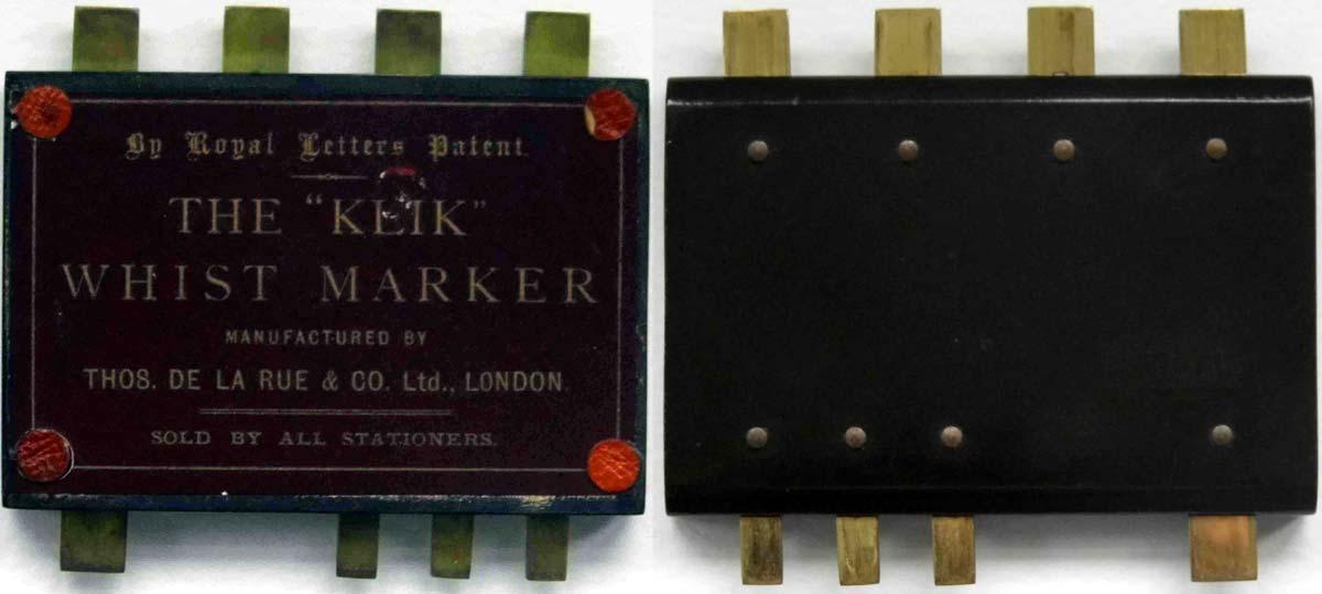 The Klik Whist Marker