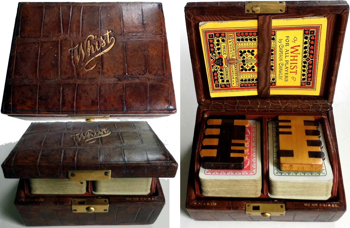 whist boxed set, c.1904