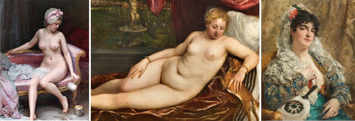 3 images from Tne Prado Museum, Madrid