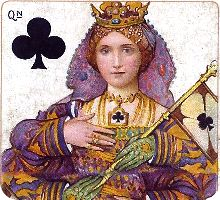 Lady Anne, from Richard III, from Shakespeare Playing Cards published by C.W. Falkner, London, c.1906 / Dondorf's Whist No.192