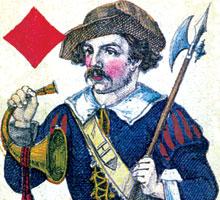 Danish Tarok Cards - Holmblad, c.1850