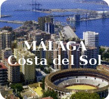 Detail from Málaga, Costa del Sol souvenir playing-cards published by Otermin Ediciones, 2011