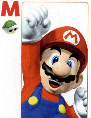 Nintendo Mario Playing Cards