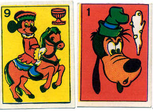 Walt Disney Playing cards