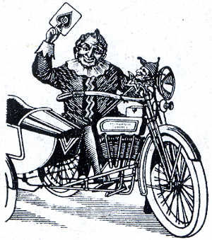 Side Car motif from Joker
