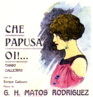 La Cumparsita Tango deck manufactured in Argentina, anonymous manufacturer, 2001
