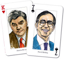 54 Welsh Politicians on a deck of playing cards...