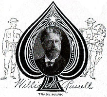 Willis W. Russell Card Co, Milltown, New Jersey