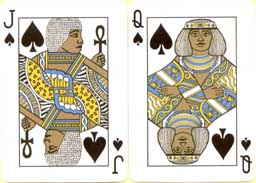 Jack and Queen of spades