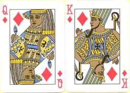Pharaoh Palmier Poker Cards, 2001