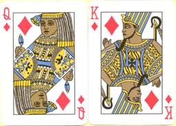 Pharaoh Palmier Poker Cards, 2001