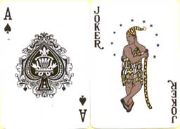 Ace of spades and Joker