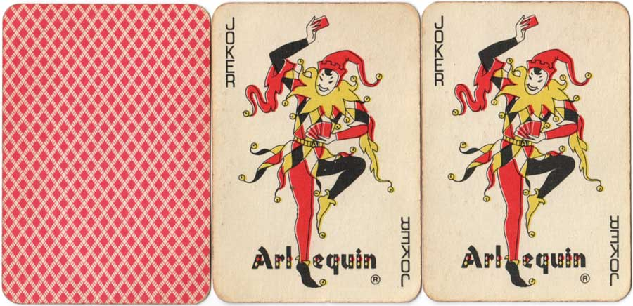 Naipes de Poker Arlequin, c.1975