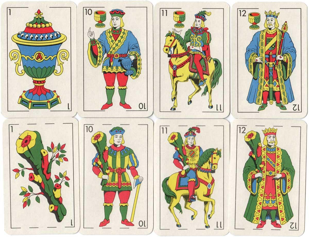 Naipes Estilo Español Arlequin, c.1975