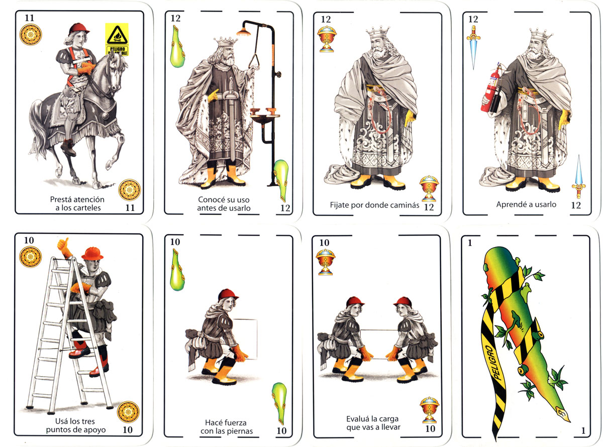 Bosch Rexroth Health & Safety playing cards
