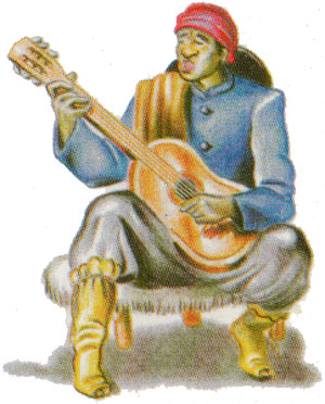 Naipes Cardón depicting traditional Argentine culture, 2002