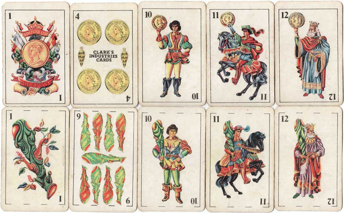 Clark's Industries Spanish Cards, c.1975