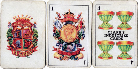Clarks Industries Spanish Cards, c.1975