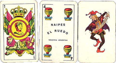 Naipes El Ruedo, anonymous manufacturer, c.1980