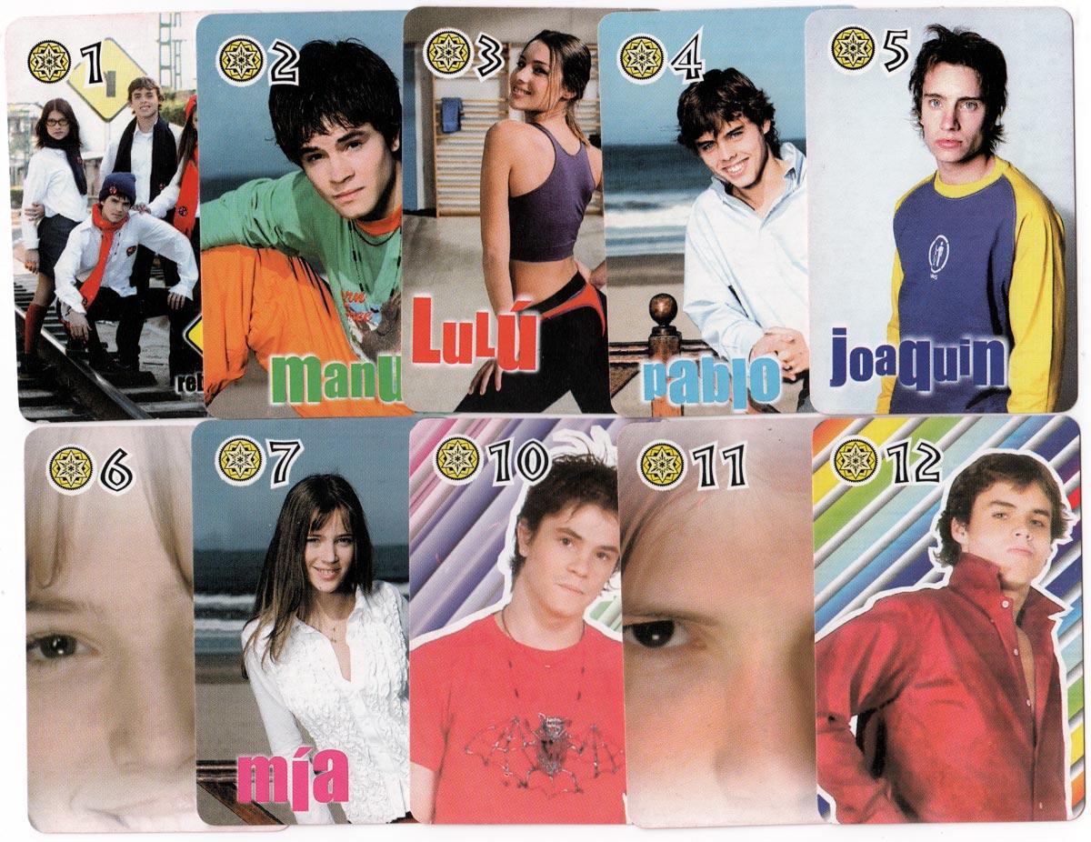 Erreway pop group deck, 2002
