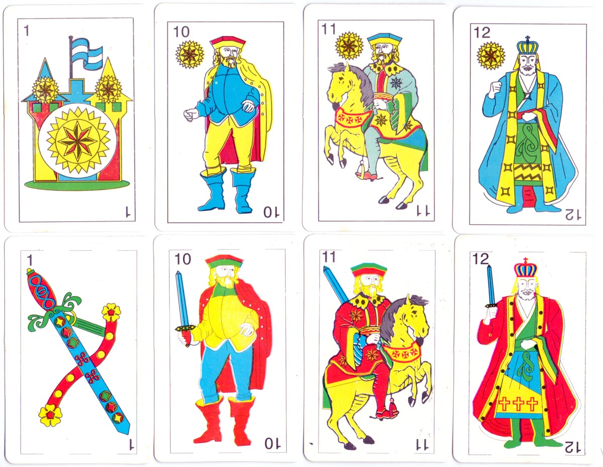 'Foto Joker' Spanish playing cards for Matera Color Laboratory, 2008
