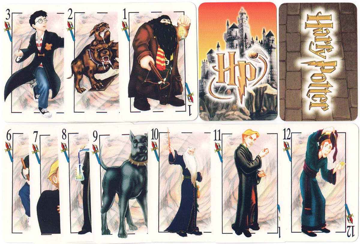 Harry Potter Spanish-suited deck made in Argentina, c.2001