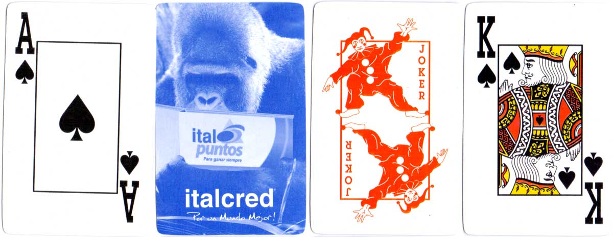 anonymous pack produced exclusively for Italcred credit card customers, c.2005