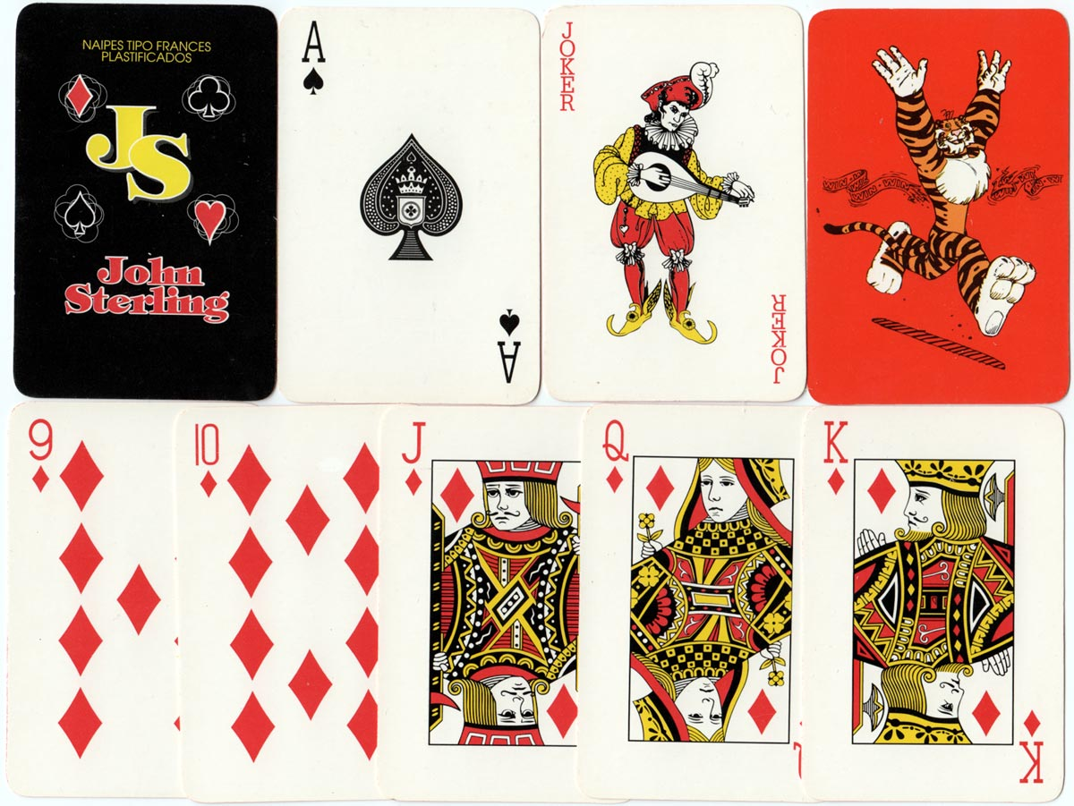 ESSO Shop playing cards by John Sterling, 1999