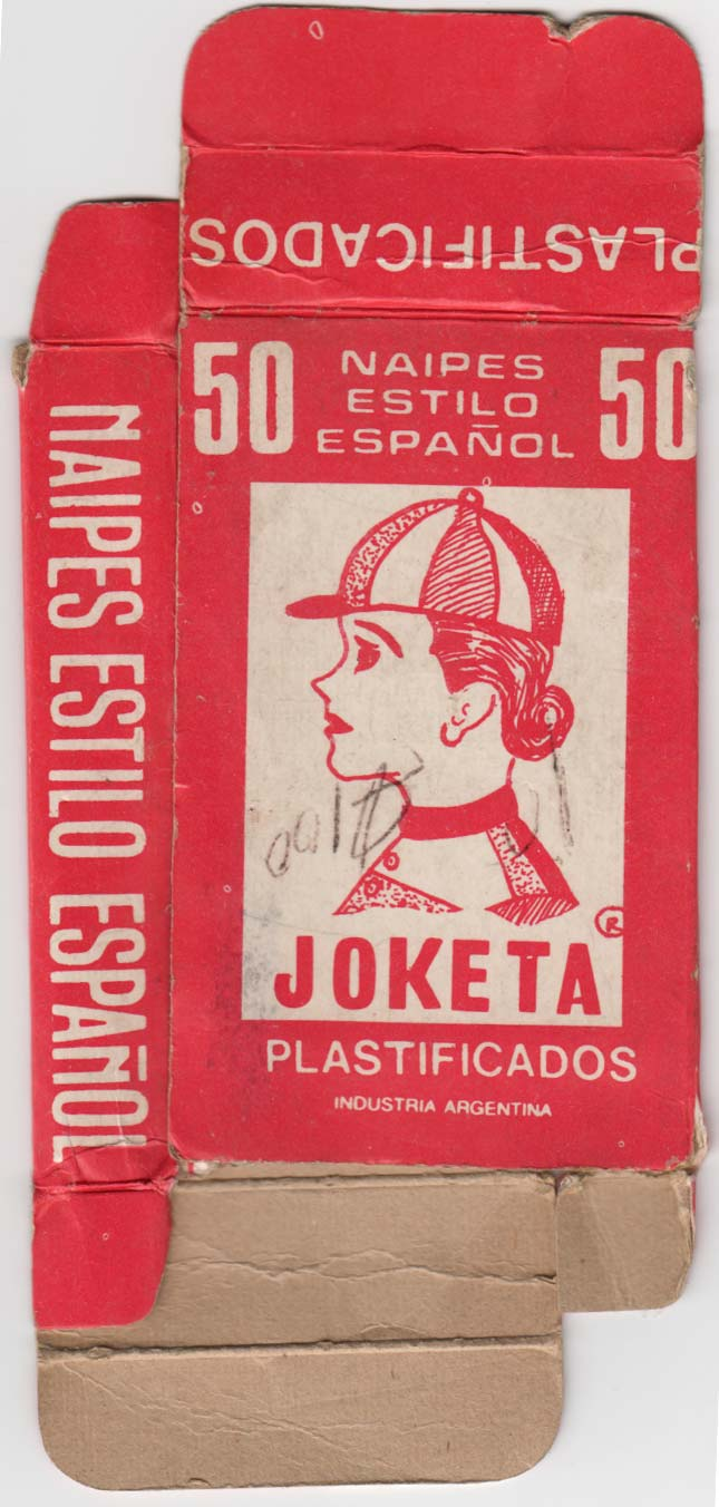 """Naipes Joketa"" by anonymous manufacturer, c.1975."