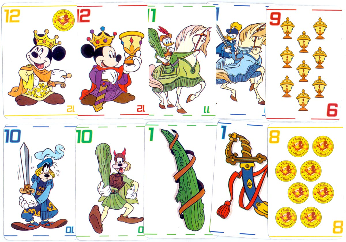 Mickey Mouse y Amigos Spanish-suited pack, 2001