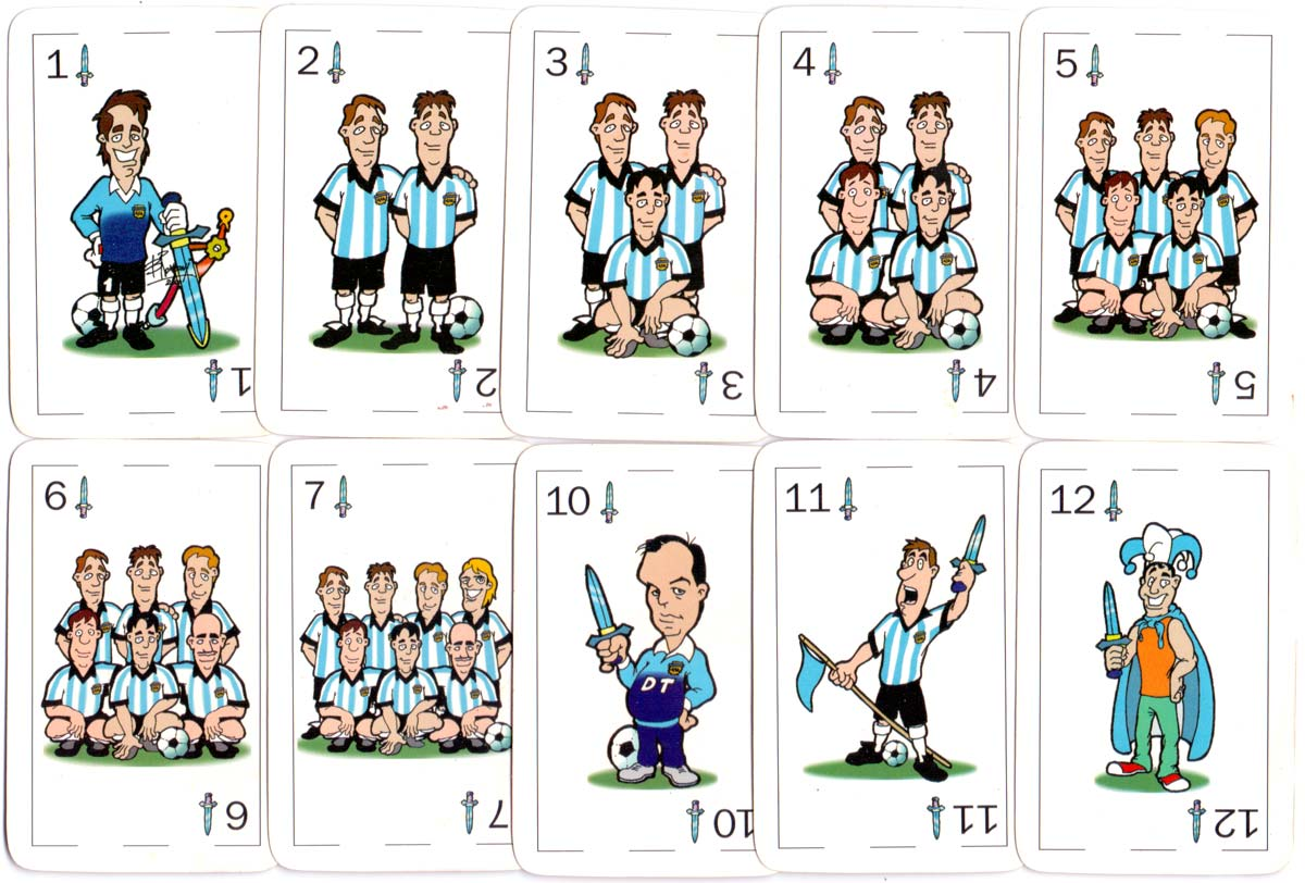 World Cup '98 football team pack for Paradigma Consulting Group, 1998
