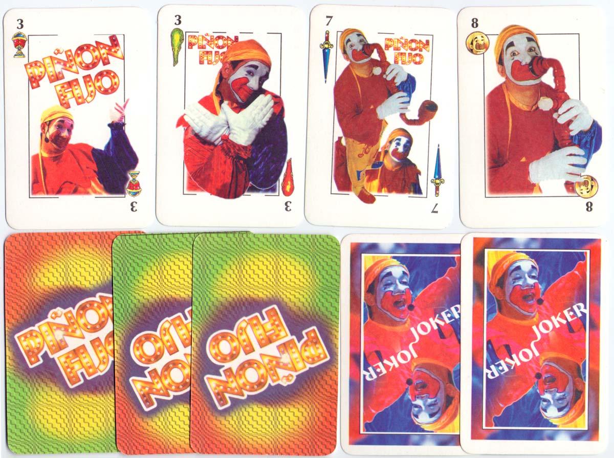 """Piñón Fijo"" playing cards, anonymous manufacturer, Argentina c.1990"