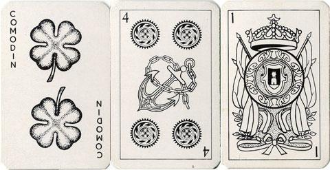 Naipes Trebol, anonymous manufacturer, c.1990