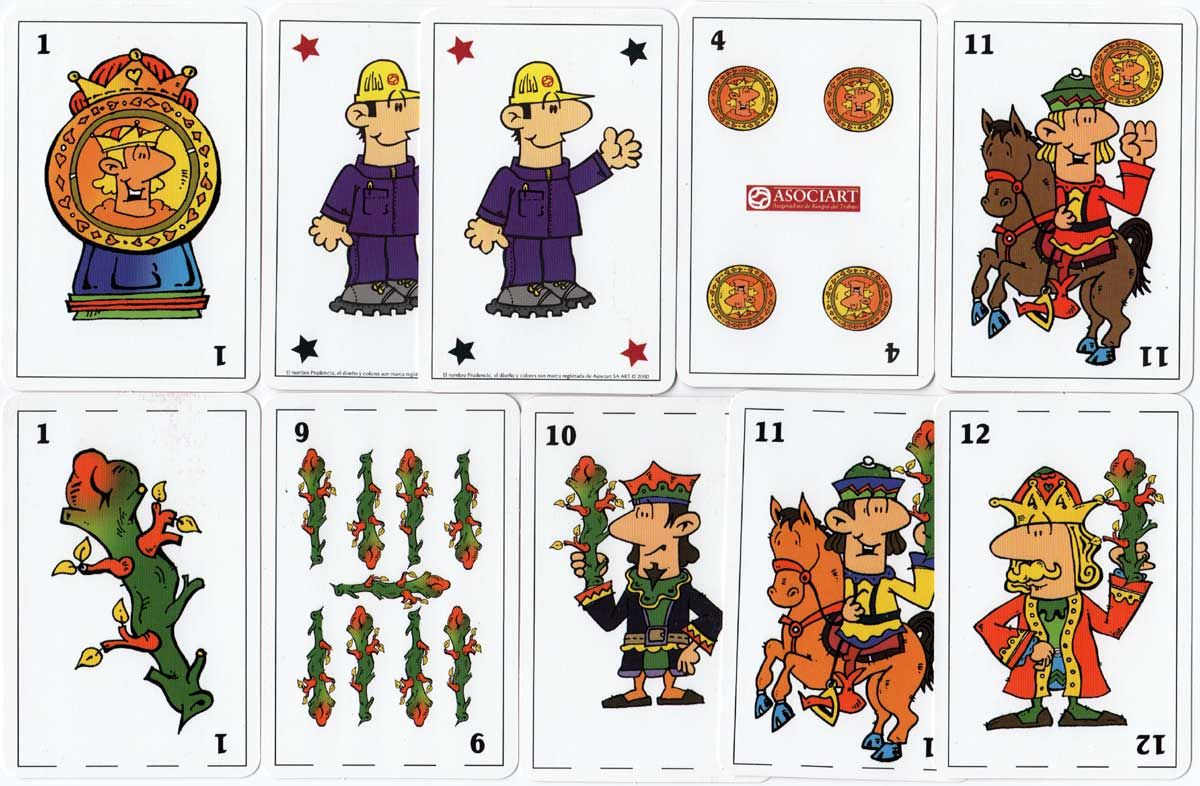 Asociart promotional playing cards, Argentina, 2000