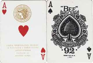 Abeja/Bee playing cards