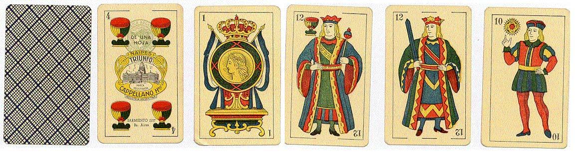 Naipes Triunfo, c.1925