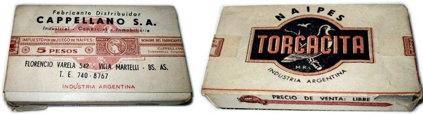 TORCACITA playing cards c.1965-67