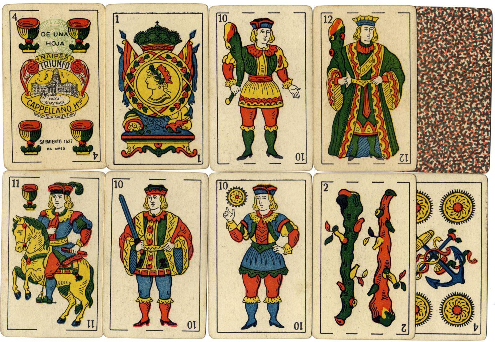 Naipes Triunfo, c.1930-40