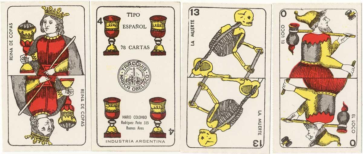 Taroquis Marca Obelisco, Mario Colombo, Buenos Aires, c.1970