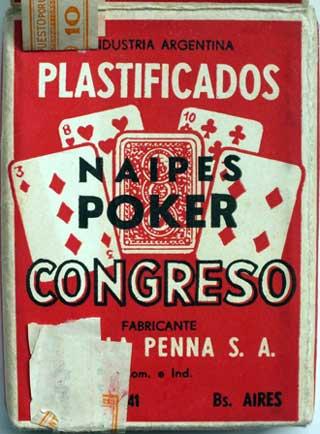 Box of Naipes Congreso, c.1966