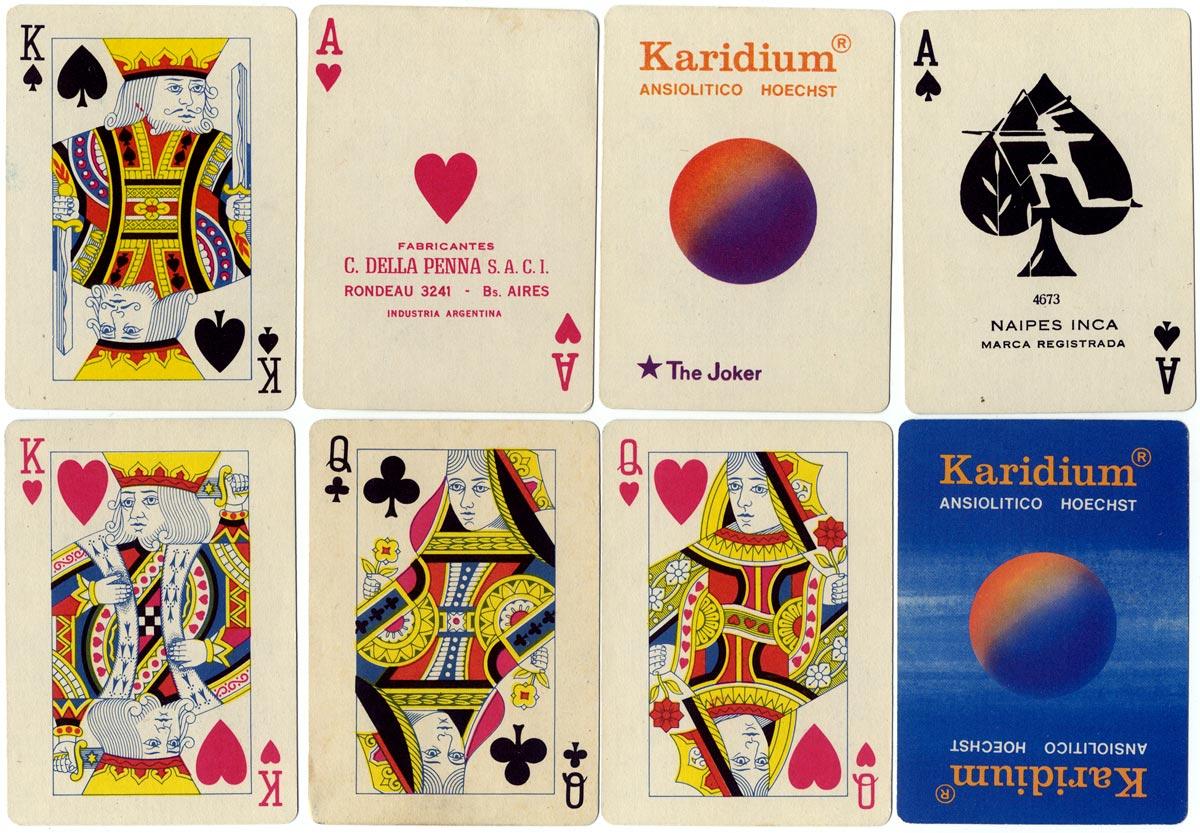 Naipes Inca for Karidium, c.1973
